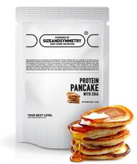 SizeAndSymmetry Nutrition Protein pancake with chia
