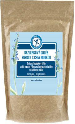 Adveni Bezlepkový chléb Energy s chia moukou