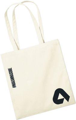 Aktin plátěná taška #makamnasobe