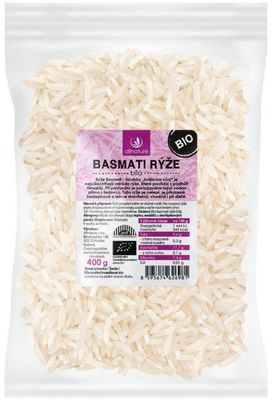 Allnature Basmati rýže bílá BIO