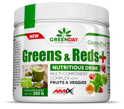 Amix Green Day Greens & Reds +