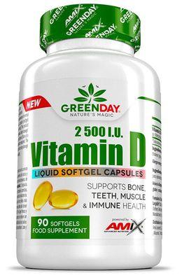 Amix Green Day Vitamín D 2500 I.U.