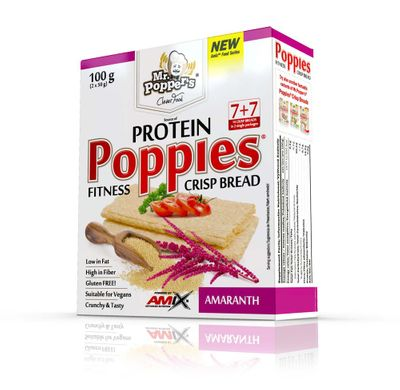 Amix Protein Poppies Crisp Bread