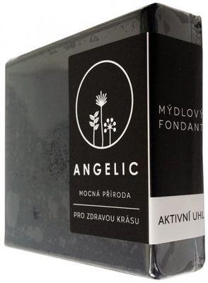 Angelic Mydlový fondant Aktívne uhlie