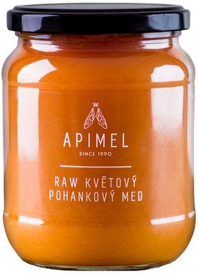 Apimel RAW Květový pohankový med