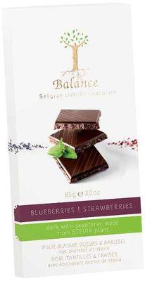 Balance hořká čokoláda se stévií