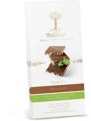 Balance mléčná čokoláda se stévií