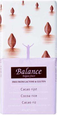 Balance Mléčná čokoláda z rýžového mléka