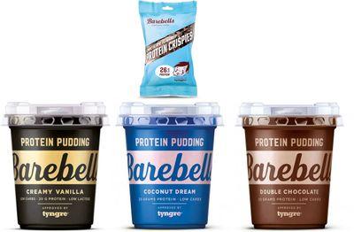 Barebells Protein Pudding 3 x 55 g + Protein crispies 50 g ZDARMA