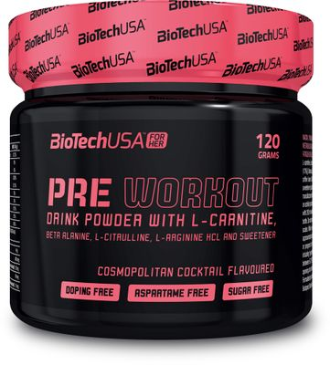 BioTech USA For Her Pre Workout