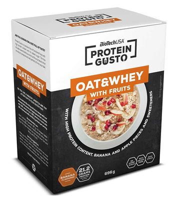 BioTech USA Protein Gusto Oat & Whey