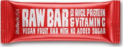BioTech USA Raw Bar with Rice Protein