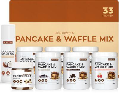 Bodylab Pancake & Waffle Mix Box