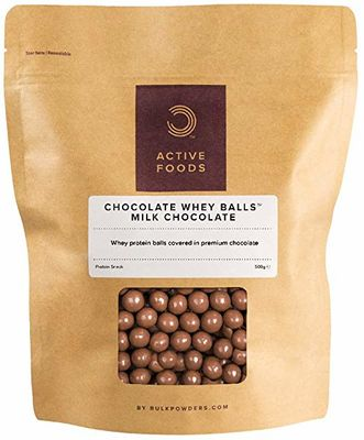 Bulk Powders Chocolate Whey Balls