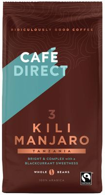 Café Direct Kilimanjaro zrnková káva