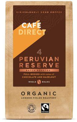 Café Direct Peru zrnková káva BIO