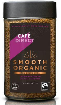 Café Direct Smooth Instantní káva BIO