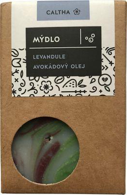 Caltha Mýdlo Levandule avokádový olej
