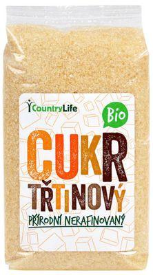 Country Life BIO Třtinový cukr