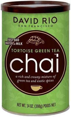 David Rio Tortoise Green Tea Chai