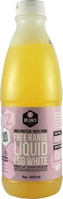 Dr Zak's Free Range Liquid Egg White