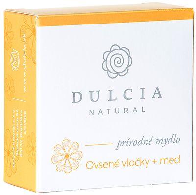Dulcia Natural Přírodní mýdlo Ovesné vločky + med
