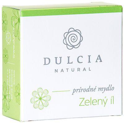 Dulcia Natural Přírodní mýdlo Zelený jíl