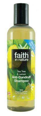 Faith in Nature Šampon proti lupům Tea tree a citron BIO