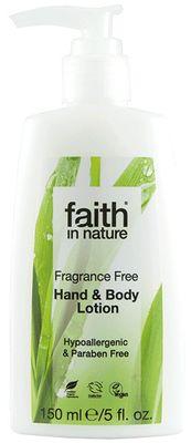 Faith in Nature Mléko na ruce a tělo BIO