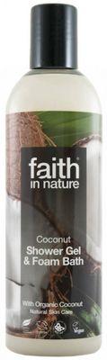 Faith in Nature Sprchový gel a pěna kokosový BIO