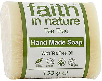 Faith in Nature Tuhé mýdlo Tea Tree BIO
