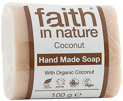 Faith in Nature Tuhé mýdlo kokos BIO
