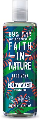 Faith in Nature Sprchový gel a pěna Aloe vera