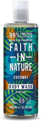 Faith in Nature Sprchový gel a pěna kokos