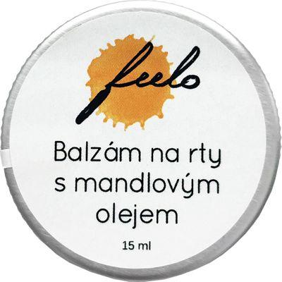 Feelo Balzám na rty mandlový olej