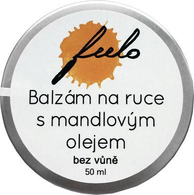 Feelo Balzám na ruce s mandlovým olejem bez vůně