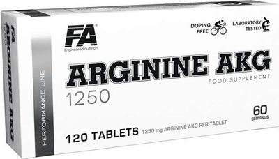 Fitness Authority Arginine AKG 1250