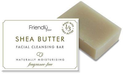 Friendly Soap Mýdlo na čištění obličeje s bambuckým máslem