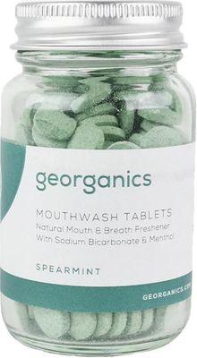 Georganics Mouthwash Tablets Spearmint