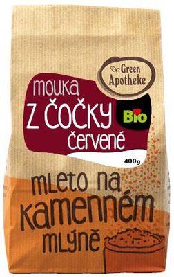 Green Apotheke Mouka z červené čočky BIO