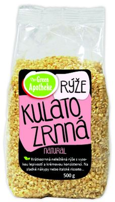 Green Apotheke Rýže kulatozrnná natural