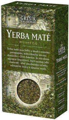 Grešík bylinný čaj Yerba maté