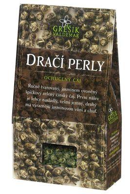 Grešík zelený aromatizovaný čaj Dračí perly