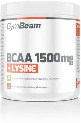 GymBeam BCAA 1500 + Lysin
