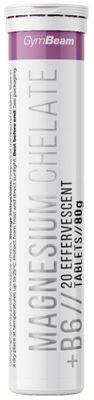 GymBeam Magnesium Chelate + B6