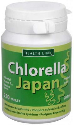 Health Link Chlorella Japan