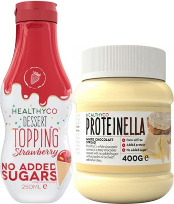 HealthyCo Dessert Topping 250 ml + HealthyCo Proteinella 400 g