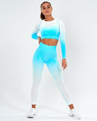 ICANIWILL legíny Seamless Ombre 7/8