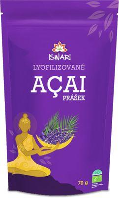 Iswari Lyofilizované acai prášek