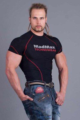 MadMax kompresní triko s krátkým rukávem